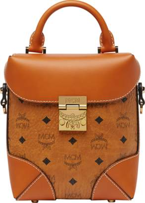 MCM Soft Berlin Ns Crossbody In Visetos