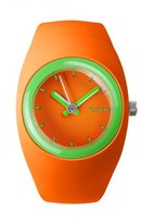 Ioion IO?ION! Io? ION. bu-rgf25 – Unisex Watch – Analogue Quartz – Orange Silicone Strap