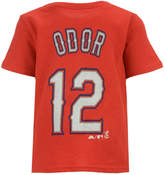 Majestic Rougned Odor Texas Rangers Official Player T-Shirt, Infant Boys (12-24 months)