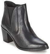 Pieces UMIKO LEATHER BOOT Black