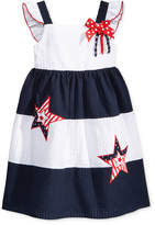 Good Lad Little Girls Starry Americana Sundress
