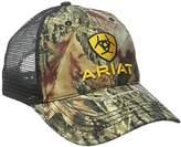 Ariat Men's Camo Front Black Mesh Hat