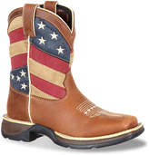 Durango Boys Patriotic Flag Toddler & Youth Cowboy Boot