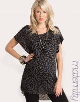 ASOS MATERNITY Leopard Printed Top