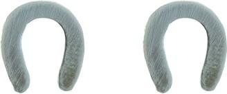 Nashelle Horsehoe Stud Earrings
