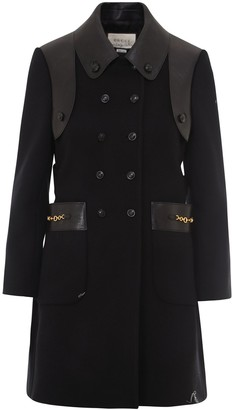 Gucci Double-Breasted Petit Coat