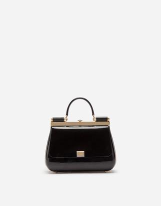 Dolce & Gabbana Sicily Box Bag In Sint Glass