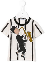 Dolce & Gabbana Jazz print T-shirt - kids - Cotton - 18 mth