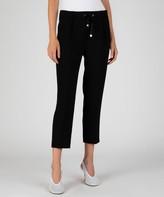 Atm Micro Twill Pull-On Pants - Black