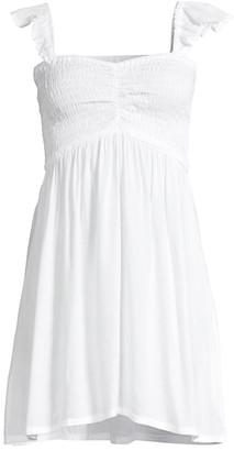 Tiare Hawaii Hollie Smocked Mini Dress