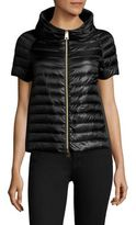 Herno Short-Sleeve Down Puffer Vest