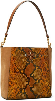 Tory Burch McGraw Embossed Hobo