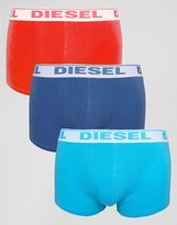Diesel Trunks In 3 Pack Multi