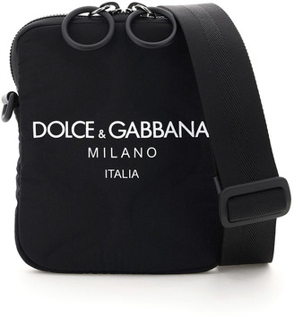 Dolce & Gabbana Small Nylon Shoulder Strap With Logo
