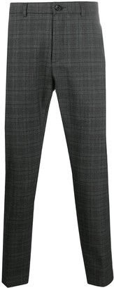 DEPARTMENT 5 Plaid Check Wool-Mix Trousers