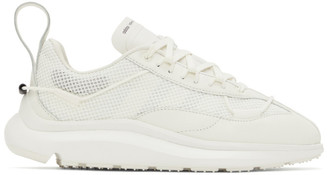 Y-3 White Shiku Run Sneakers