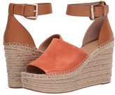 Marc Fisher Adalyn Espadrille Wedge (Light Gray Leather) Women's Wedge Shoes