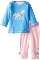Hatley Tee & Leggings Set (Baby) - Flower Horses-12-18 Months