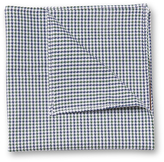 Hickey Freeman Men's Printed Cotton Pocket Square