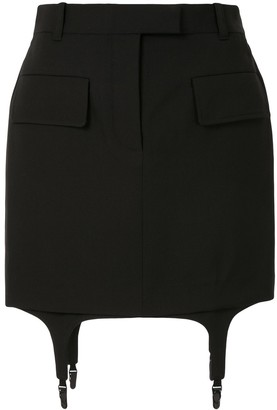 Vera Wang Knitted Mini Skirt