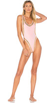 Norma Kamali X REVOLVE Marissa Stud One Piece in Pink. - size L (also in M)