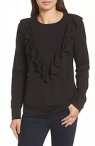 Halogen Women's Ruffle Ponte Sweater