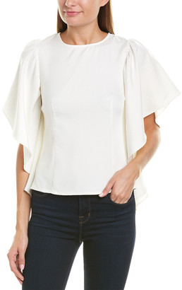 Rosewater Remi Angel Wing Sleeve Top