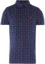 Farah Boys Printed Polo Shirt