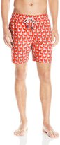 Tom & Teddy Men's Big Seagulls Swim Trunks