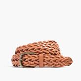 Madewell Leather Multi-Strand Braided Belt