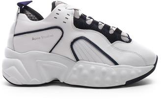 Acne Studios Manhattan Sneakers in Multi White   FWRD