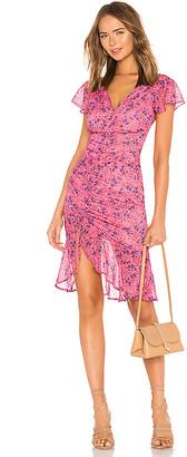 Majorelle Elaine Midi Dress