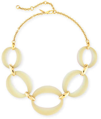 """Alexis Bittar Large Lucite® Link Necklace, 16"""""""