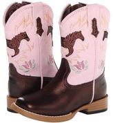Roper Bling Chunk Boots w/ Horses (Toddler)