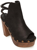 Five Worlds by Cordanni Hatty Wooden Platform Sandal