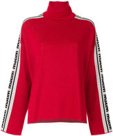 MSGM oversize roll neck jumper