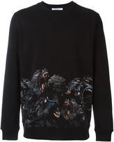 Givenchy baboon print sweatshirt
