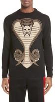 Givenchy Men's Cobra Intarsia Sweater