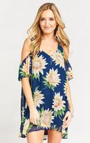MUMU Birdie Ruffle Dress ~ Sunflower Dreams