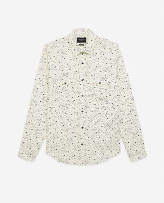 The Kooples Ecru cotton shirt with star print