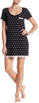 Laura Ashley Lace Trim Nightgown