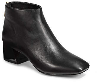 Karl Lagerfeld Paris Hayden Leather Booties