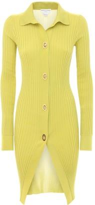 Bottega Veneta Cotton & Silk Knit Long Cardigan