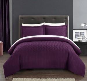 Chic Home Jazmine 3 Piece Queen Comforter Set Bedding