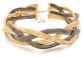 Bop Bijoux Metallic Braid Necklace
