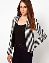 Warehouse Stripe Tailored Blazer