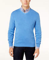 Club Room Men's V-Neck Cotton Sweater, Created for Macy's