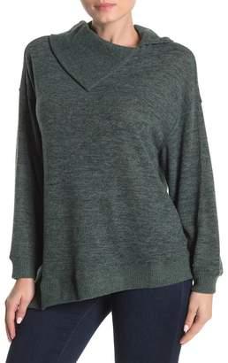 Democracy Asymmetrical Collar Sweater