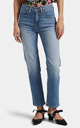 Icons Objects of Devotion Women's High-Rise Straight-Leg Jeans - Blue