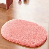 Unknown Soft, skin-friendly batroom mats/Mat/Non-slip durable little mats/Oval door blanket/Absorbent pad